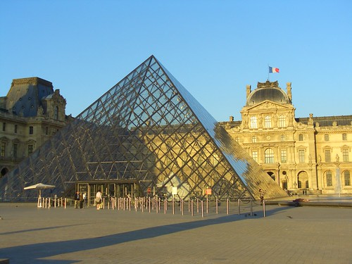The Pyramid at the Louvre
