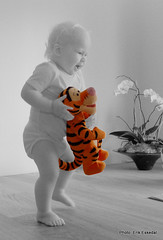 Playing with Tigger 2
