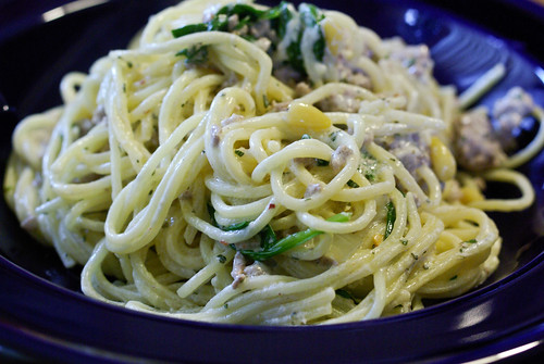 lamb yogurt noodles