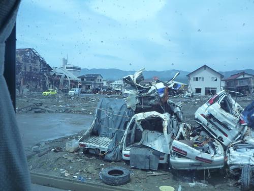 気仙沼の様子 Japan Quake Volunteer Bus to Kesennuma, Miyagi pref.