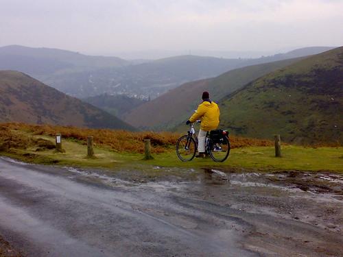 e-Cycling up Long Mynd