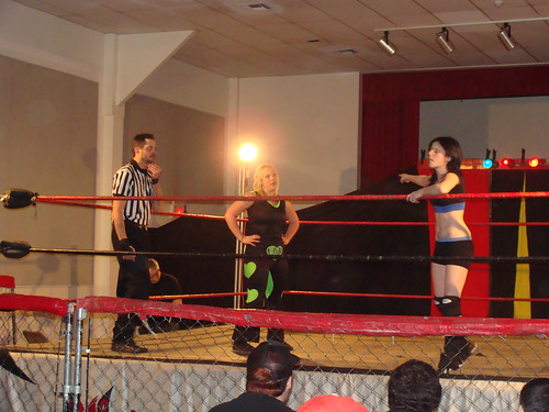 Alektra Blue and Rachel Summerlynn both made their LWA debuts at the first night of the double shot.