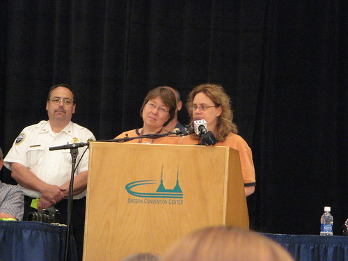 Our fearless leaders - ST-1, Tina Newton & Stephanie Pearl-McPhee