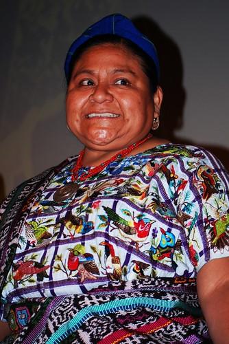 Rigoberta Menchú en Utah par Edgar Zuniga Jr.