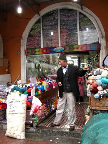 Kürkçü Han: wool seller