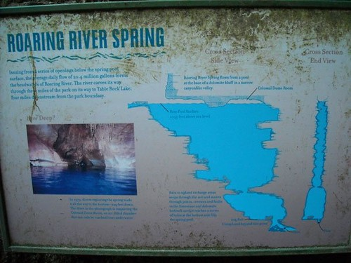 3rd largest spring in Missouri - 20.4 millions gallons per day!