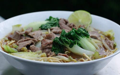 Beef, Noodle and Veggie Pho