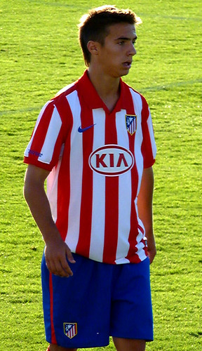 Atletico Madrid B player