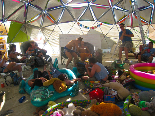BRCU chill out dome