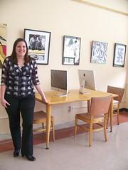 iMacs at Cushing Library