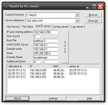 tftpd32-dhcp