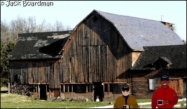 Barn on Washington County Rd 15