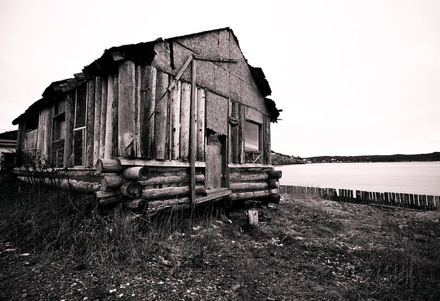 Abandoned House in Ferryland, Newfoundland. Click for Larger.