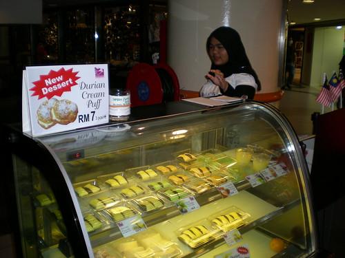 Durian dessert stall KL