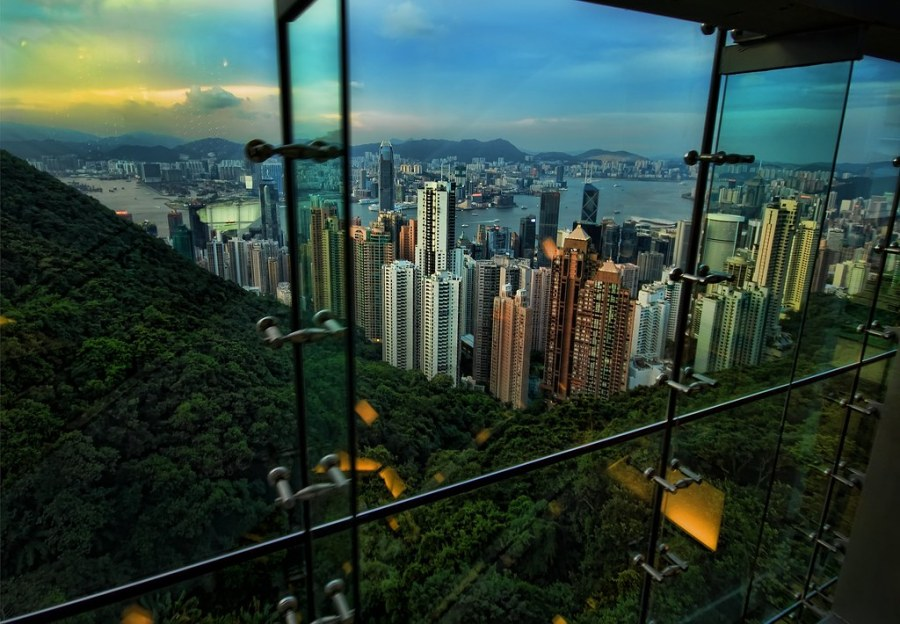 Climbing to the top of Hong Kong (and an interview on NPR)