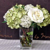 Paper Hydrangeas For Decorating