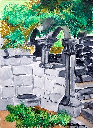 Cour intérieure - Backyard