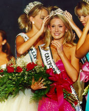 Miss CA Teen USA 03 crowning