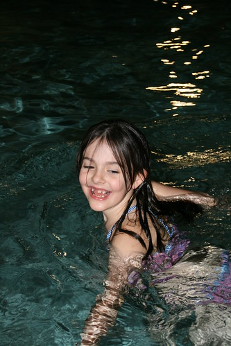 My daughter the water fairy