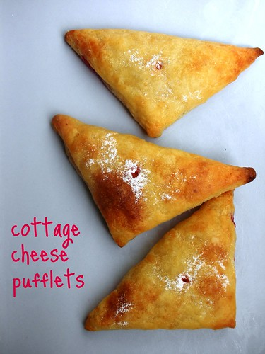 cottage cheese pufflets