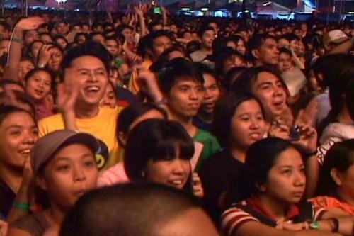 Me at Eraserheads Reunion Concert DVD - 1