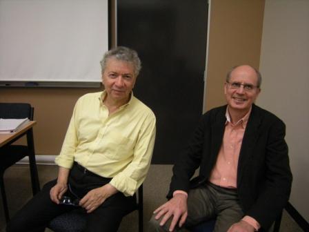 Professor Sassoon and Professor David Carter
