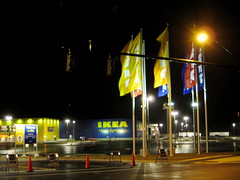 Drove by our new IKEA the other night (before grand opening)