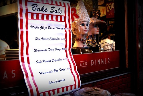 The Nickel Diner, DTLA Bake Sale by you.
