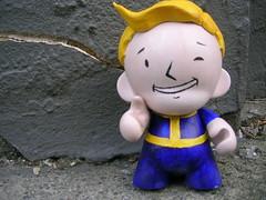 Vault Boy Mini Munny
