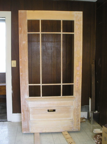 Door restoration project