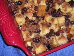 Chocolate-Orange Bread Pudding