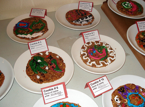 Cookie Decorating Contest Contestants