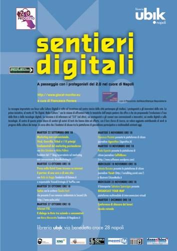locandina Sentieri Digitali