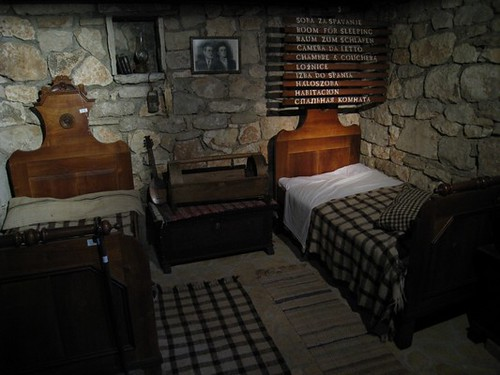 The traditional bedroom