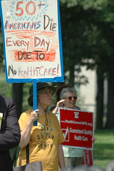 Single-payer rally
