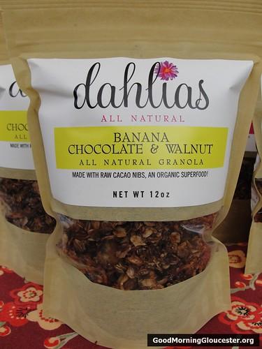 Dahlias All Natural Banana Chocolate and Walnut Granola