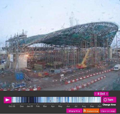London 2012 Aquatics Centre Webcam