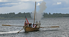 Action on the St. Lawrence River - Plains of Abraham Re-Enactment, Founders Day 2009, Ogdensburg, New York