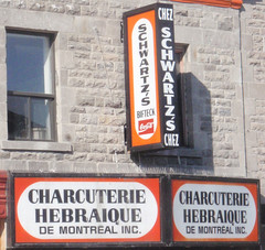 The Official Name: Chez Schwartz Charcuterie Hebraique de Montreal