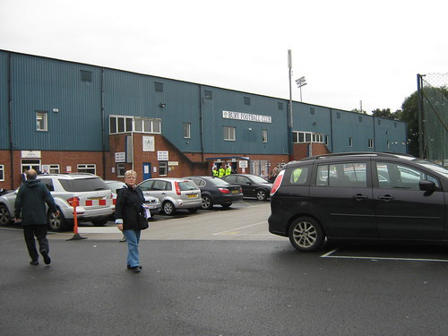Outside the Main Stand