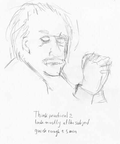 Einstein Sketch 2