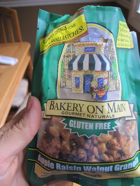 Bakery on the Main granola sample
