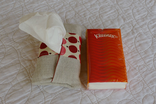 Tissue Pouch in use with refill by you.