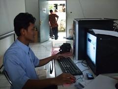 Pelatihan eLearning di SMA Labschool UPI Bandung