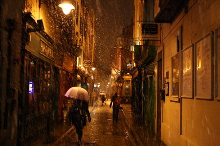 Snow in Dublin