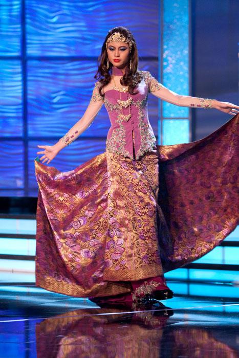 Traje Típico de Miss Malasia