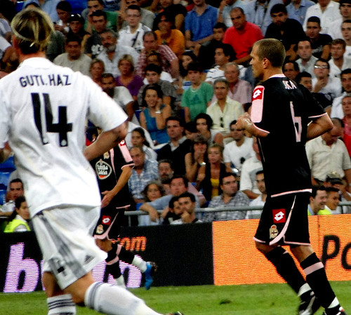 Real Madrid player Guti - jersey and shorts