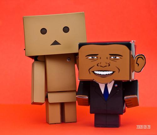 Danboard & President Barack Obama