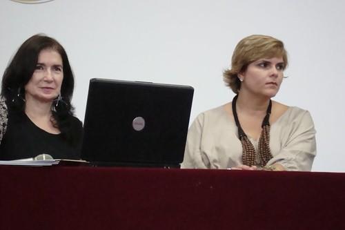 Ivete Cattani e Fabiola Medeiros