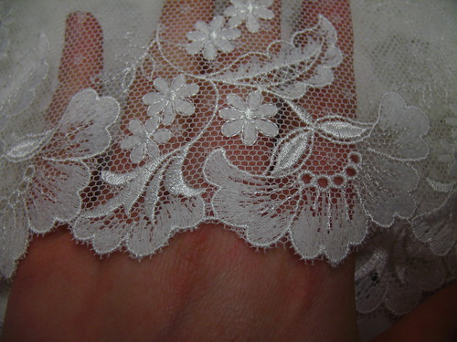 lace for my robe a la Francaise